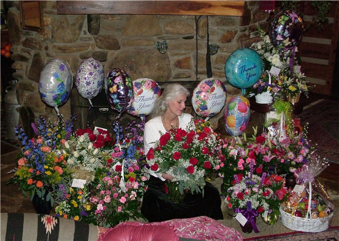Colette Dowell Russian Film documentary - flowers and baskets Circular Times