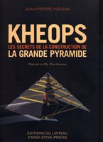 Jean-Pierre Houdin KHEOPS book cover Great Pyramid Internal Ramp Theory