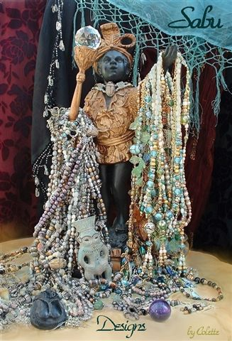 Sabu Antique Collectables Custome Jewelry from around the world